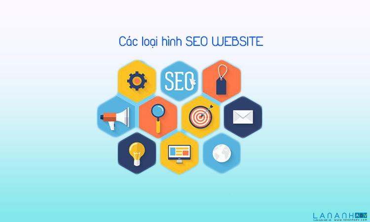 Các loại dịch vụ seo website
