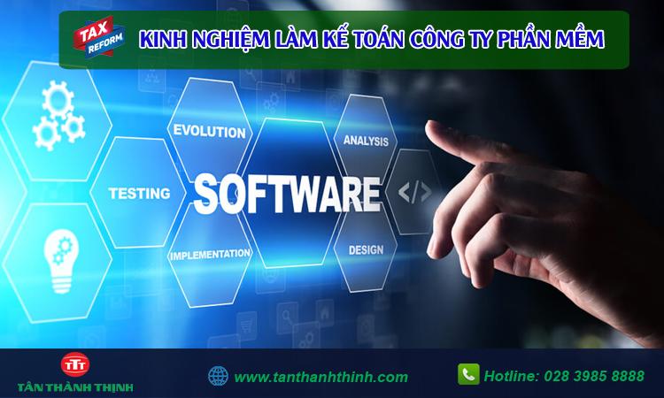 Kế toán công ty phần mềm